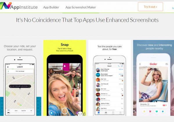 Crea scrhermate (screenshot) per la tua applicazione utilizzando Appinstitute.