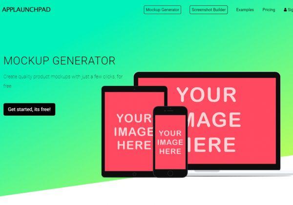 Crea mockup con Applaunchpad gratuitamente.