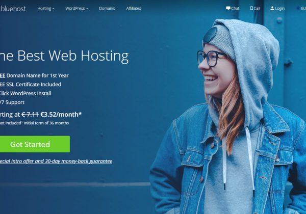 Il migliore hosting per wordpress è Bluehost.