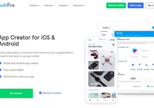 BuildFire è un ambiente dove è possibile sviluppare la propria app movile a seconda del settore in cui si lavora. È un servizio gratis fin quando l'app non viene pubblicata nei vari store online.