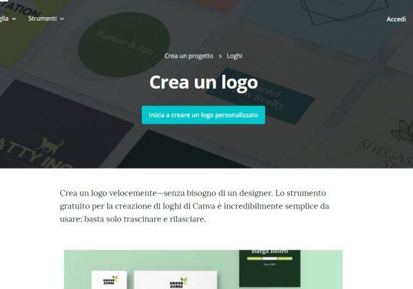 Crea il tuo logo gratuitamente con Canva