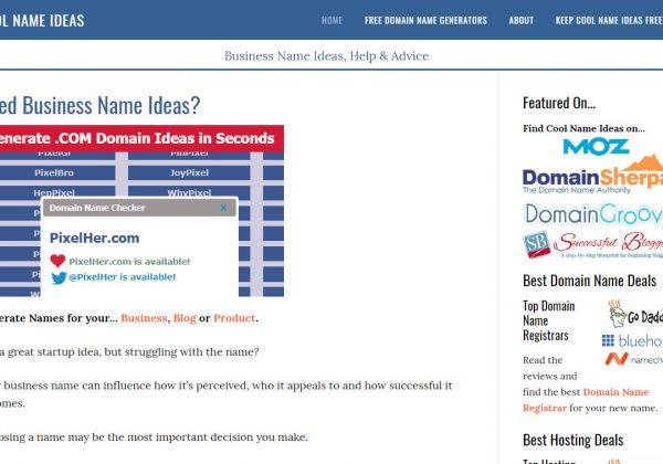 Crea il nome della tua startup con questo generatore di nomi aziendali, gratis!