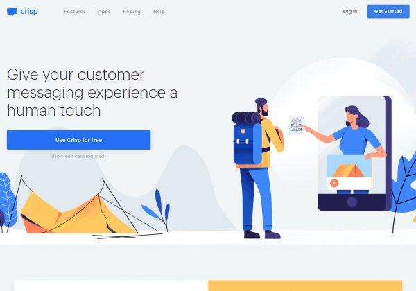 Crisp è un sito che offre una soluzione semplice e piacevole per comunicare con i clienti ogni giorno dal tuo sito web. Dalla comunicazione, gestione degli utenti fino all'analisi.