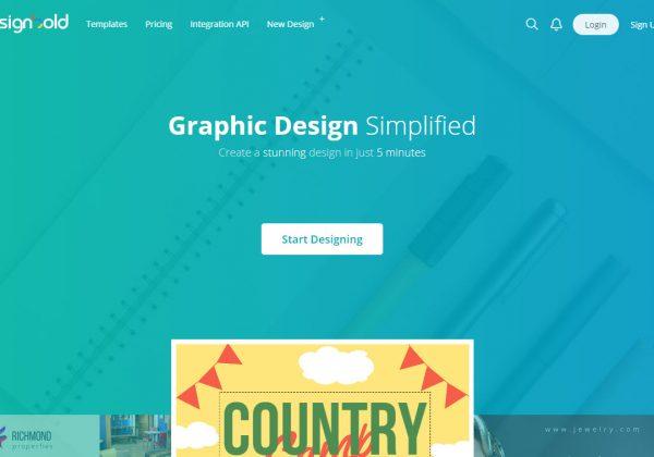 Trasforma le tue idee in contenuti visivi con Design Bold.