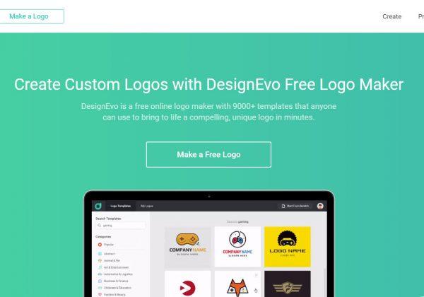 Creatore di loghi online gratuito, DesignEvo.