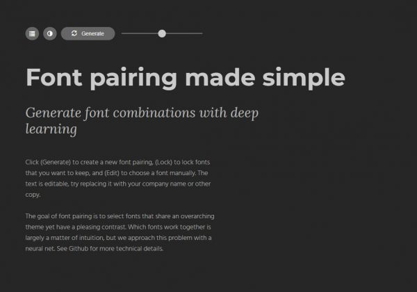Scegli i caratteri giusti da utilizzare per il tuo design.