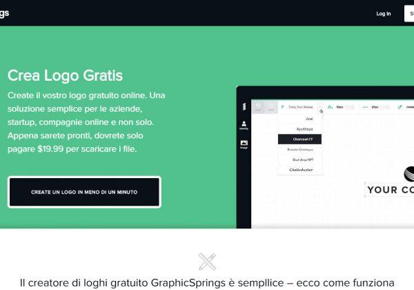 Hai bisogno di creare un logo? Su graphics Springs puoi creare il tuo logo facilmente, online e gratuitamente.