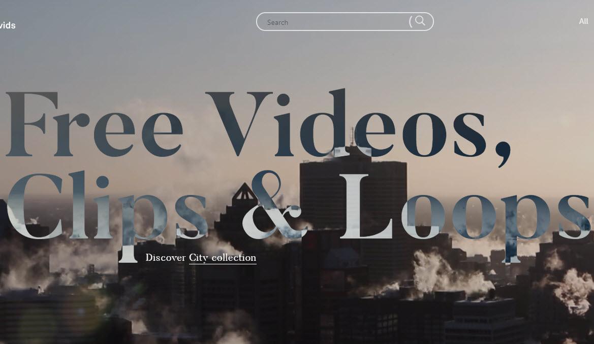 Scarica video gratis da inserire sul sito web senza preoccuparsi dei copyright.