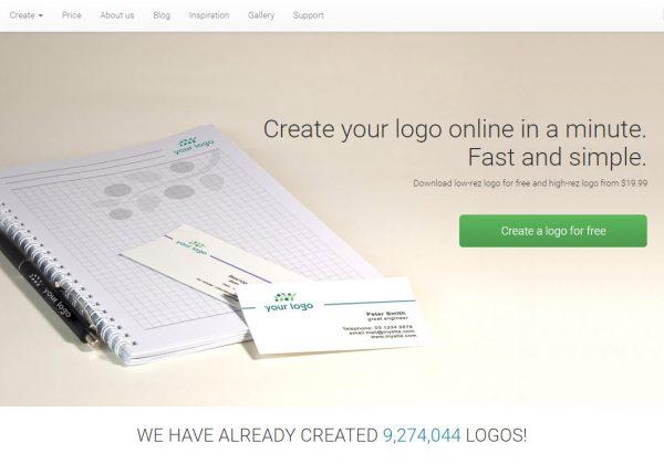 Crea il tuo logo gratuitamente online usando solamente il tuo browser e risparmiando soldi!