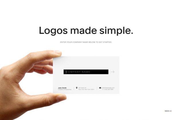 Editor online per creare il proprio logo, con questo strumento messo a disposizione da Squarespace puoi creare i tuoi loghi e scaricarli gratuitamente oppure comprarli per l'alta risoluzione.