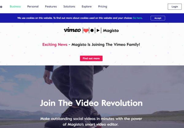 Magisto trasforma automaticamente i tuoi video e le tue foto in filmati magnificamente modificati. Basta scattare e caricare le foto o i tuoi video e Magisto li trasforma in film completi di musica ed effetti speciali in pochi minuti.