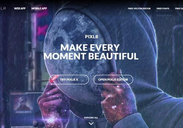 Pixlr è un editor di foto accessibile attraverso il proprio browser. Questo editor è perfetto per editare le proprie immagini da utilizzare per instagram o per la propria startup.