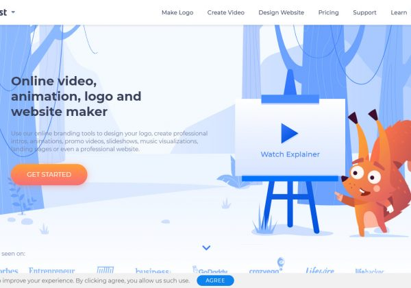 Renderforest è uno strumento gratuito di video e animazione online