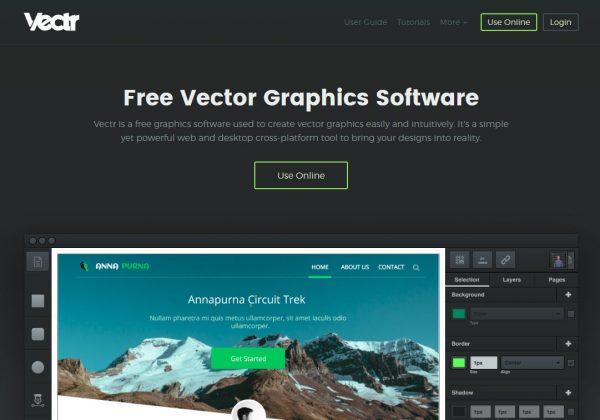 Con Vectr puoi creare grafica vettoriale in modo facile e intuitivo