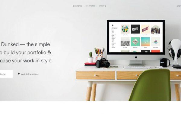 Stai cercando di creare un tuo portfolio? Dunken, è lo strumento adatto per fotografi, designer, creati e per tutti coloro che amano il disegno.