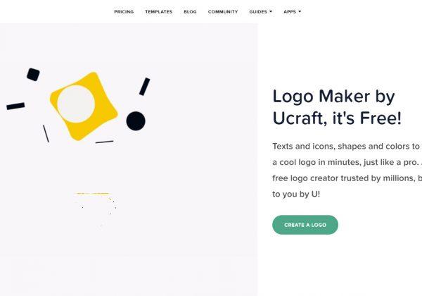 Ucraft è uno dei migliori strumenti online per creare loghi minimalisti e moderni. Se vuoi creare il logo per la tua startup, ucraft è lo strumento perfetto.