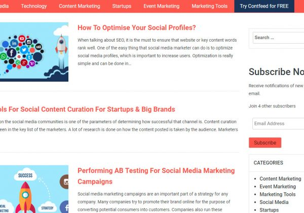Contfeed è una piattaforma di visualizzazione di contenuti sociali che consente alle aziende e ai marchi di aggregare i contenuti social pubblicati dai propri fan e utenti online.