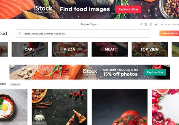 Qui è disponibile un'enorme collezione di immagini di alimenti realistici e naturali.