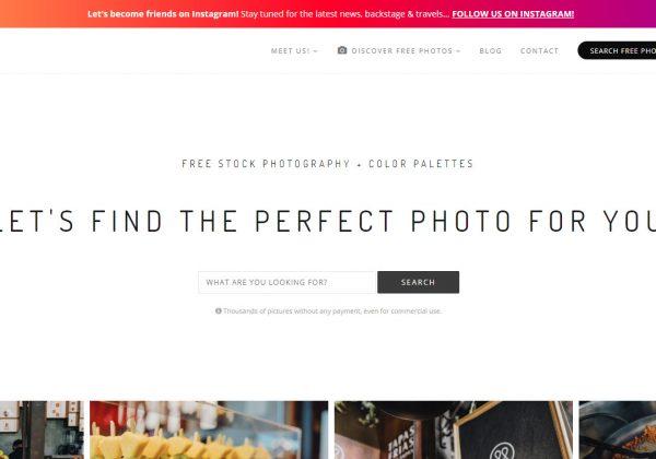 Kaboompics è sito che raccoglie foto di alta qualità offerte gratuitamente ai blogger, ai proprietari di siti Web, alle piccole imprese, liberi professionisti e gli amanti dei social media.
