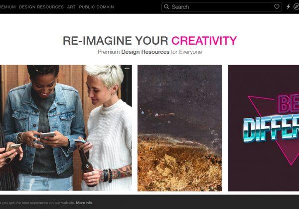 RawPixel è un sito che contiene una varietà di bellissime immagini per il design del proprio sito web.