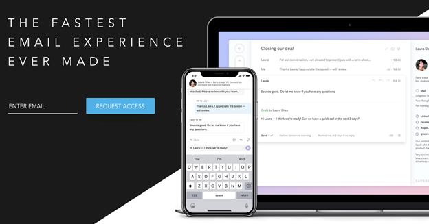 Superhuman è una delle app di trend del 2020. Si tratta di una nuova casella di posta elettronica che migliora l'esperienza dell'utente.