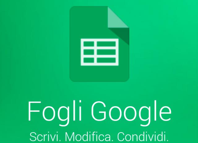 Con i Fogli Google si possono creare database senza dover programmare.